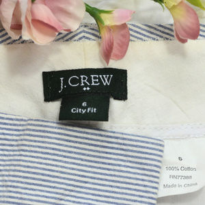 J. Crew Pants - J. Crew Factory City Fit Searsucker Dress Pants